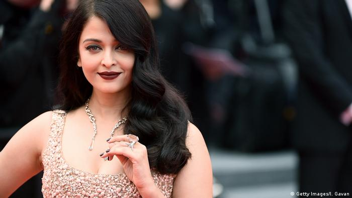 Frankreich Cannes Aishwarya Rai (Getty Images/I. Gavan)