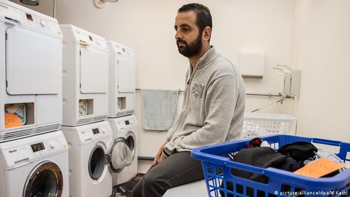 Deutschland Ellwangen Ein-Euro Jobs für Flüchtlinge