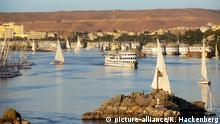 Ägypten Nil Kreuzfahrtschiff