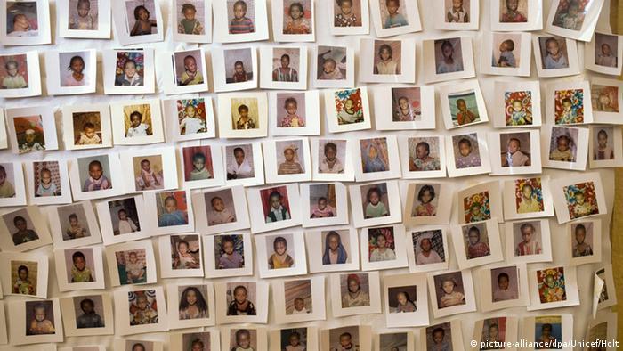 Fotos de niñas etíopes que se la logrado proteger de la mutilación de sus órganos genitales.