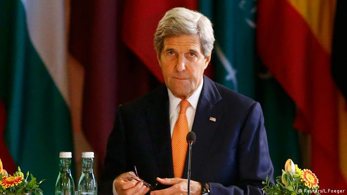 US-Außenminister John Kerry in Wien (foto: reuters)