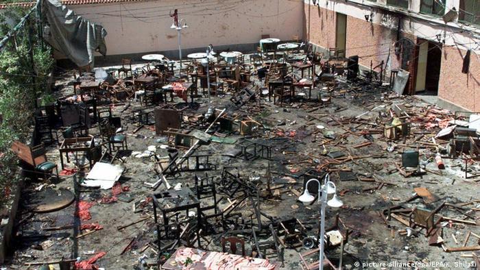 Marokko Casablanca Bombenanschlag auf Restaurant Casa de Espana 2003