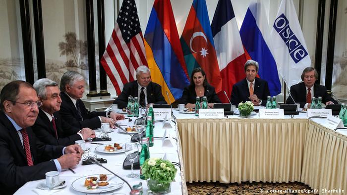 Nagorno-Karabakh Peace in Wien