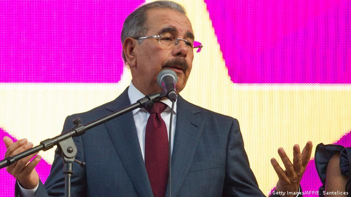 Dominikanische Republik Danilo Medina in Santo Domingo