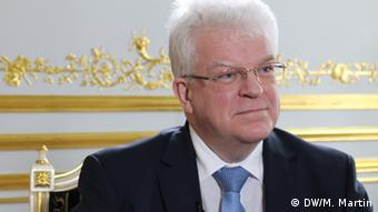 Vladimir Chizhov, Russian ambassador to the EU (Photo: DW/M. Martin)