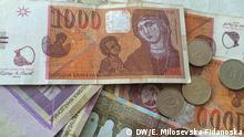 Mazedonien Geld Denar