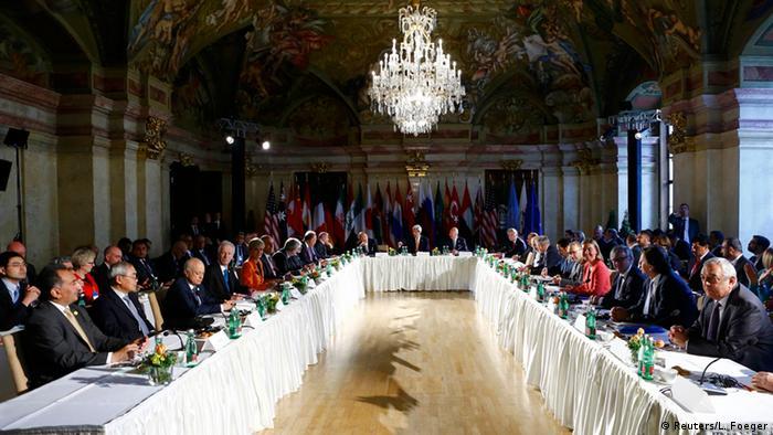 Österreich Wien Syrien Friedensgespräche