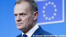 """EU-Ratspräsident Donald Tusk: """"Bei unseren Zugeständnissen gibt es klare Grenzen"""""""