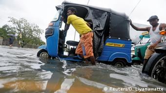 Sri Lanka Überschwemmungen in Colombo