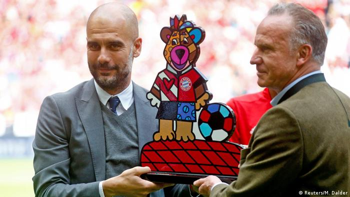 Deutschland FC Bayern München - Pep Guardiola & Karl-Heinz Rummenigge