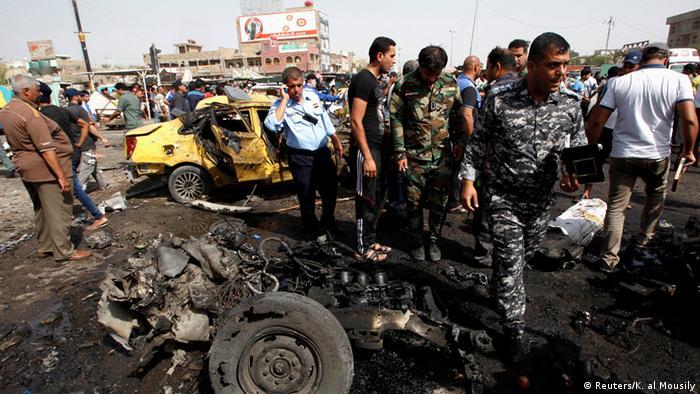 Imagen de atentado reciente en Bagdad. (Archivo)