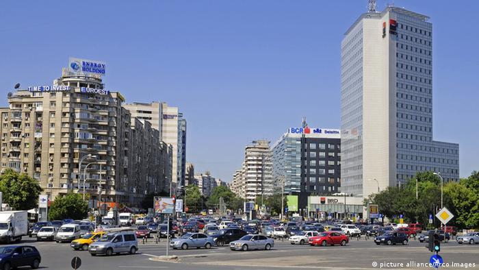 Rumänien Bukarest Piata Victoriei