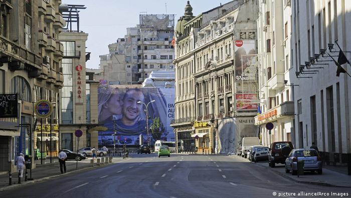 Rumänien Bukarest Calea Victoriei