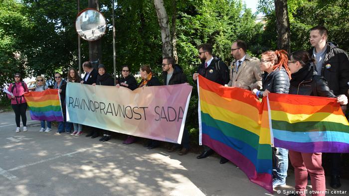 Bosnien und Herzegowina LGBT Sarajevo (Sarajevski otvoreni centar)