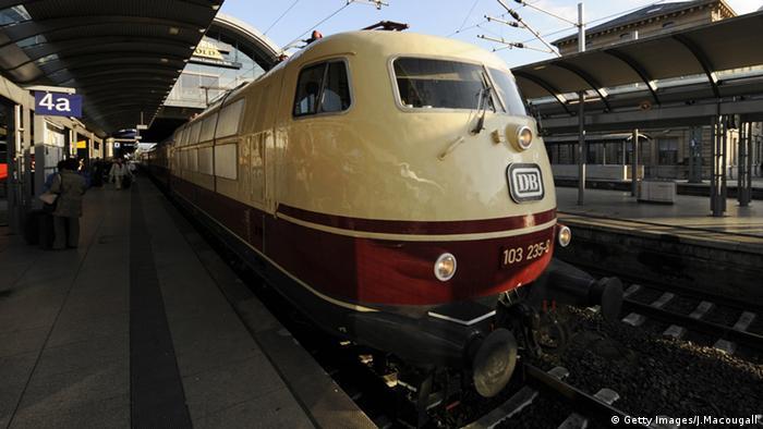 Trans Europa Express TEE Rheingold Deutsche Bahn Innenaustattung