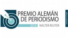 ***Achtung: Nur für geklärte Verwendung nutzen!*** Logo für den diesjährigen Walter Reuter Medienpreis, der u.a. von der DW unterstützt wird