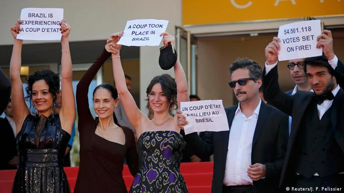 Cannes Filmfestspiele Film Aquarius Protest Amtsenthebung Rousseff