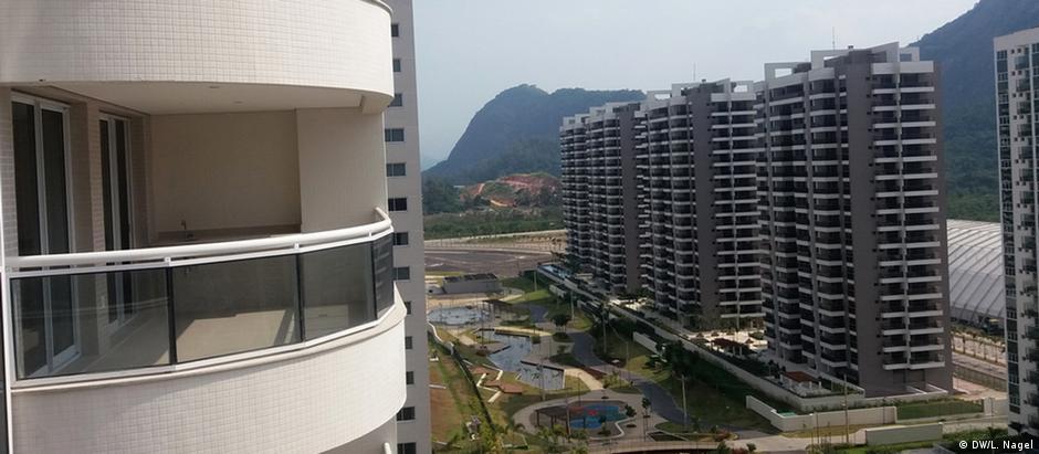 Boa parte dos apartamentos da Vila Olímpica no Rio aprsentam problemas estruturais