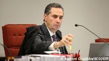 Titel: Brasilien - Minister Roberto Barroso Beschreibung: Luís Roberto Barroso, Minister des brasilianischen Obersten Bundesgerichts (Supremo Tribunal Federal/STF) - 17/05/2016. Copyright: Rosinei Coutinho/SCO/STF