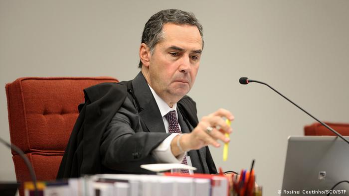 Brasilien - Minister Roberto Barroso (Rosinei Coutinho/SCO/STF)