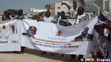 Mauretanien Oberstes Gericht - Protest Anhänger von Biram Ould Dah Ould Abeid