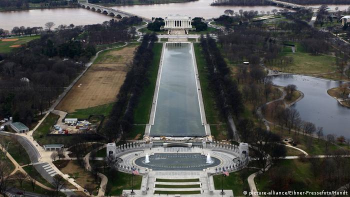 Меморіал Лінкольна і Дзеркальний ставок, Вашингтон, США