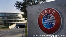 Schweiz UEFA Hauptquartier in Nyon