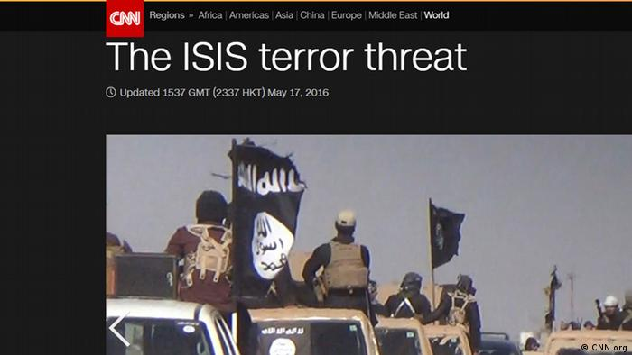 How do BBC, CNN, Al Jazeera and Russia Today report about ISIS? (Photo: CNN)