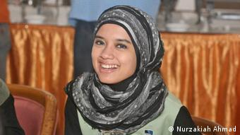 Nurzakiah Ahmad participated in the IMS program in 2013 (photo: Nurzakiah Ahmad)