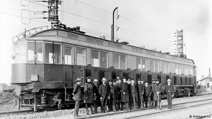 Siemens railcar on Marienfelde-Zossen track
