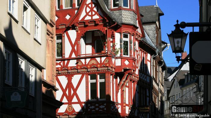 Фахверковый дом в Старом городе, Марбург