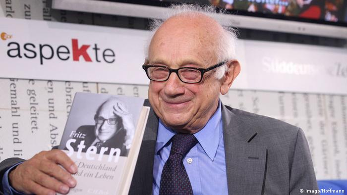 Fritz Stern 2007 bei der Vorstellung seiner Autobiografie.(c) Imago/Hoffmann