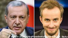 Kombo Erdogan und Jan Böhmermann