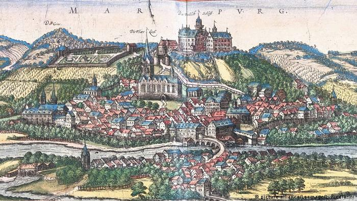 Марбург в XVI веке