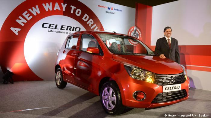 Indien Auto Suzuki Celerio (Getty Images/AFP/N. Seelam)