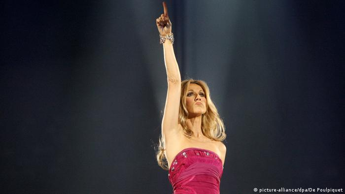 Celine Dion, Copyright: picture-alliance/dpa/De Poulpiquet