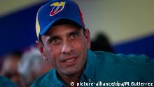 Enrique Capriles Venezuela Caracas