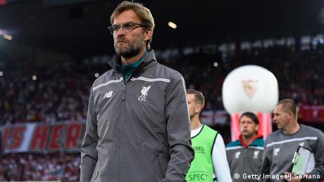 Jürgen Klopp Liverpool UEFA Liverpool FC vs Sevilla FC