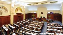 Mazedonien Parlament in Skopje