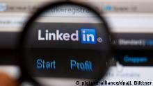 Deutschland Online-Netzwerk LinkedIn Logo