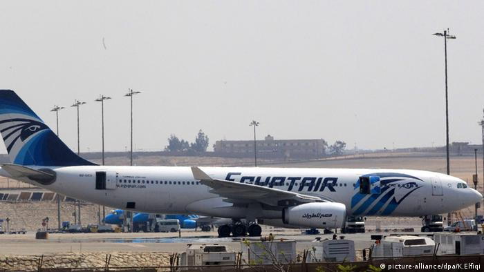Egypt Air Kairo Flughafen (picture-alliance/dpa/K.Elfiqi)