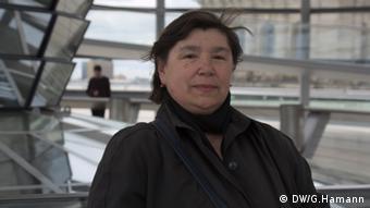 Mariia Visochan, Lehrerin aus Ukraine Foto: DW/ Greta Hamann