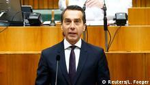 Österreich Regierungserklärung Bundeskanzler Christian Kern