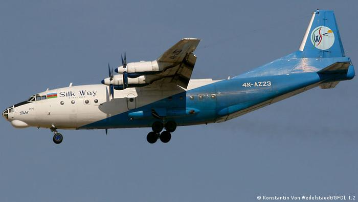 Aserbaidschan Silk Way Airlines Antonov An 12BP