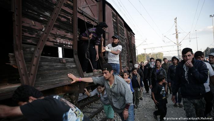 Idomeni Griechenland Flüchtlinge Camp