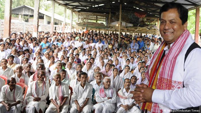 Indien Politiker Sarbananda Sonowal (Imago/Hindustan Times)