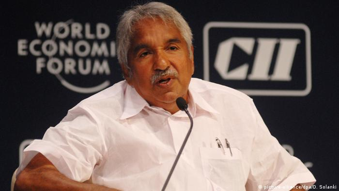 Indien Politiker in Kerala - Oommen Chandy