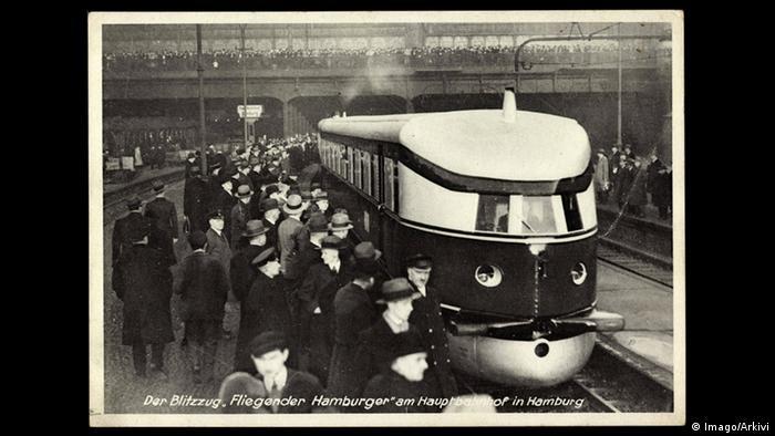 Deutschland HBF Hamburg historisch - Fliegender Hamburger