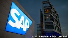 Deutschland Zentrale des Software-Herstellers SAP in Walldorf