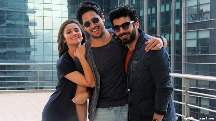 Bollywood actors Siddharth Malhotra, Alia Bhatt and Fawad Khan visited the HT Office for their movie Kapoor and Sons promotions on March 11, 2016 in Mumbai, India (Photo: Pramod Thakur/Hindustan Times)